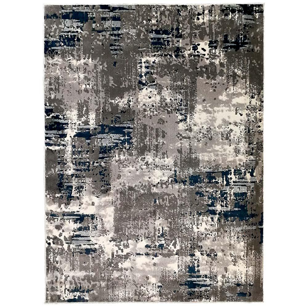 Tapete Decorativo Nobre 200x300 Cinza/Azul - Gran Belo