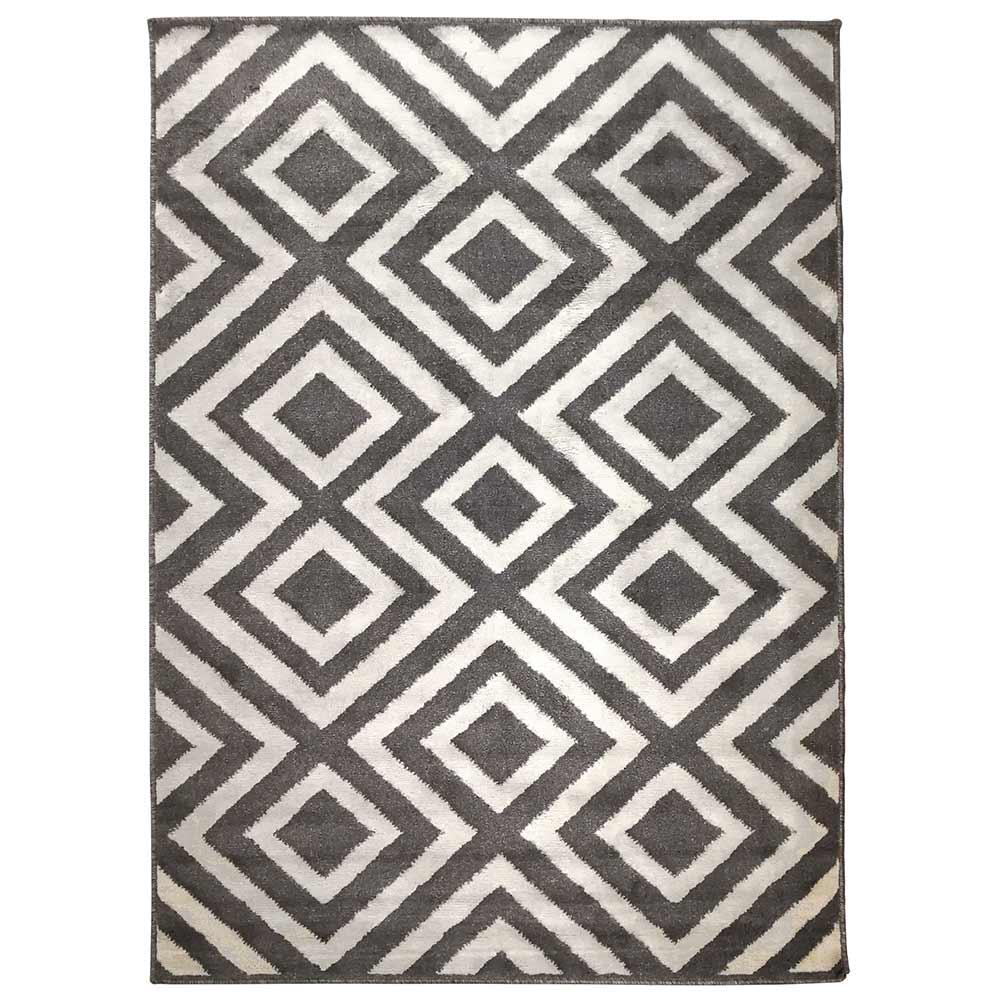 Tapete Decorativo Ragnar 200x250 (4890) Cinza/Bege - Gran Belo