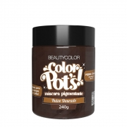 BeautyColor Máscara Pigmentante Color Pots Ruivo Dourado - 240g