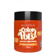 BeautyColor Máscara Pigmentante Color Pots Ruivo Laranjinha - 240g