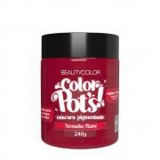 BeautyColor Máscara Pigmentante Color Pots Vermelho Flame - 240g