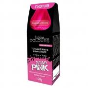 C.Kamura Tonalizante Hidratante Fashion Star Colors Sem Amônia Pink - 100g