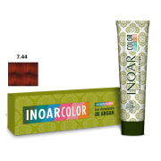 Inoar Color System 7.44 Louro Medio Cobre Intenso - 50g