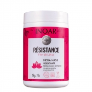 Inoar Máscara Résistance Flor de Lótus - 1000g