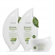 Kit Amend Hidratante Botanic Beauty - Shampoo, Condicionador e Máscara