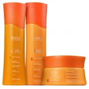 Kit Amend Solar Defense - Shampoo, Condicionador e Máscara de Tratamento