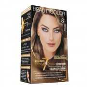Kit BeautyColor 8.1 - Louro Claro Acinzentado