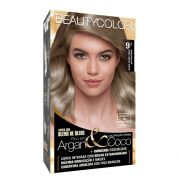 Kit BeautyColor 9.1 - Louro Muito Claro Acinzentado
