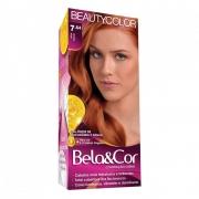 Kit BeautyColor Bela&Cor 7.64 - Ruivo Natural