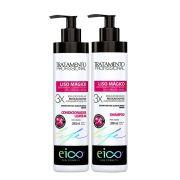 Kit Eico Liso Mágico Profissional - Shampoo e Condicionador