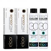 Kit Eico Pro Color - 7.4 e Oxigenada 30vol