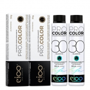 Kit Eico Pro Color - 8.34 e Oxigenada 30vol