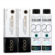 Kit Eico Pro Color - 8.44 Grátis Oxigenada 20vol