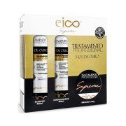 Kit Eico Supreme Fios de Ouro - Shampoo, Condicionador e Máscara
