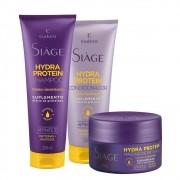 Kit Eudora Hydra Protein - Shampoo, Condicionador e Máscara