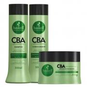 Kit Haskell CBA Amazônico - Shampoo, Condicionador 300ml e Máscara 250g