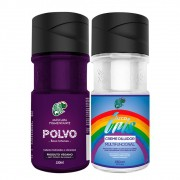 Kit Kamaleão Color - Polvo e Diluidor 150ml