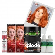 Kit Ruiva de Fases BeautyColor 96.44 - Beleza Ruiva