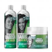Kit Soul Power Aloe Babosa - Shampoo, Condicionador e Máscara