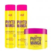 Kit Widi Care Phyto Manga - Shampoo, Condicionador e Máscara