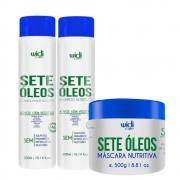 Kit Widi Care Sete Óleos - Shampoo, Condicionador e Máscara