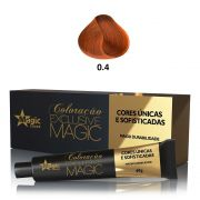 Magic Color Coloração Exclusive Magic 0.4 Corretor Cobre - 60g