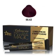 Magic Color Coloração Exclusive Magic 66.62 Marsala - 60g