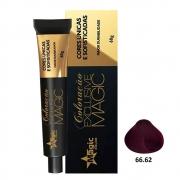 Magic Color Coloração Exclusive Magic 66.62 Marsala - 60g
