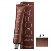 Schwarzkopf Igora Color10 5-7 Castanho Claro Cobre - 60ml