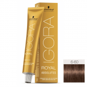 Schwarzkopf Igora Royal Absolutes 6-60 Louro Escuro Brown Natural - 60g