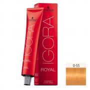 Schwarzkopf  Igora Royal HD 0-55 Tom Mistura Dourado - 60g