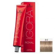 Schwarzkopf Igora Royal HD 8-0 Louro Claro Natural - 60g