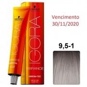 Schwarzkopf Igora Vibrance 9,5/1 Pérola - 60ml - Vencimento nov/20