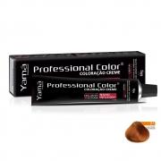 Yamá Professional Color Nano Infusion 7.4 Louro Médio Acobreado - 60g