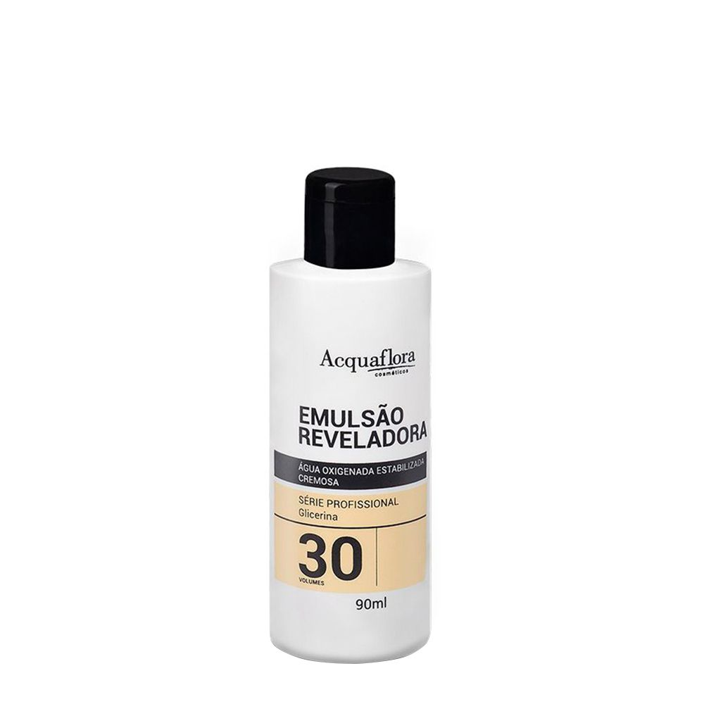 Acquaflora Água Oxigenada 30vol / 9% - 90ml