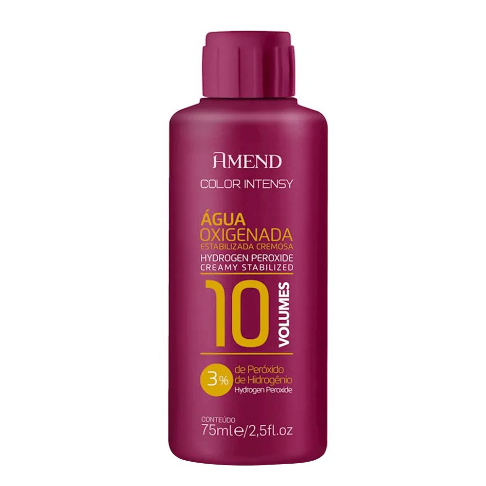 Amend Água Oxigenada Color Intensy 10vol / 3% - 75ml