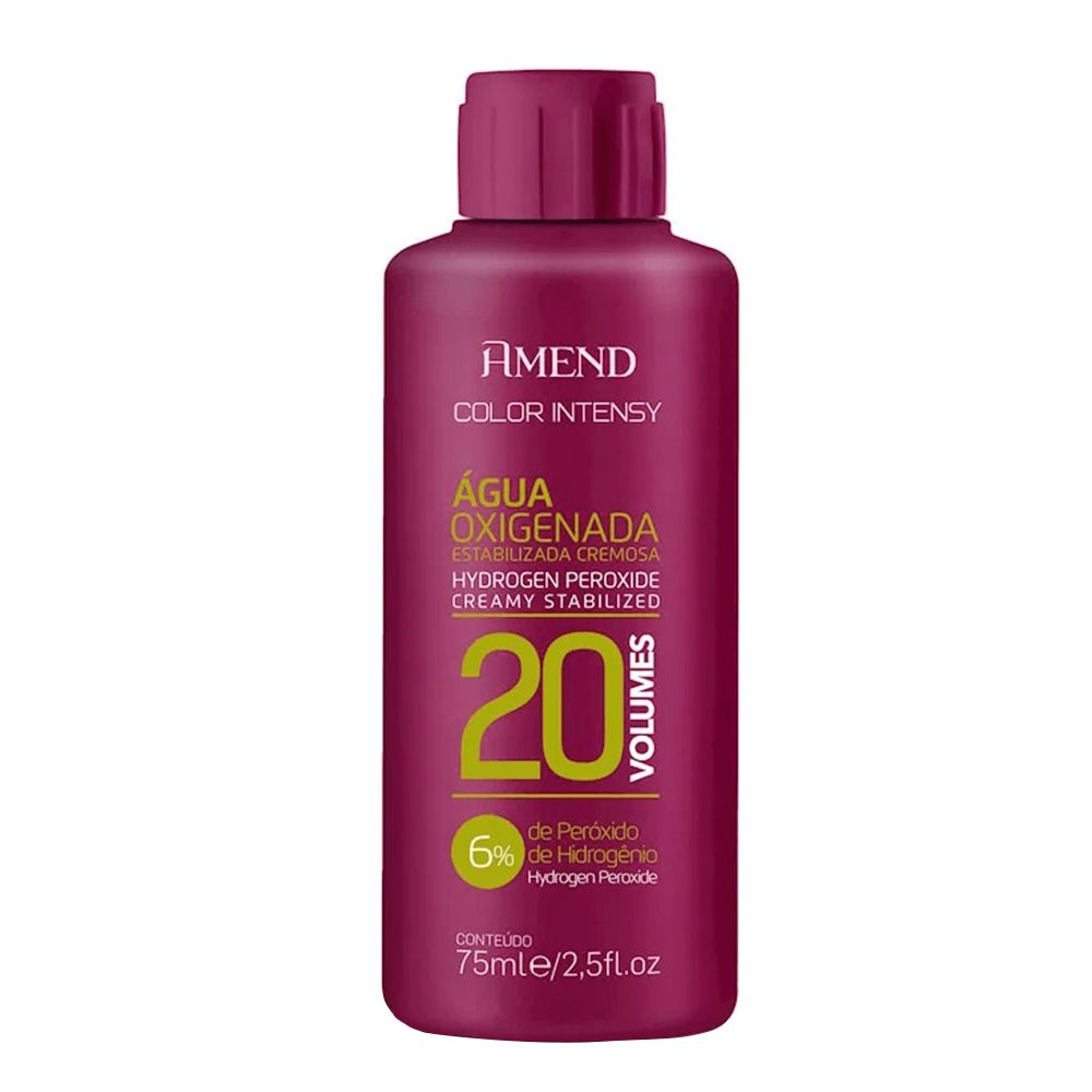 Amend Água Oxigenada Color Intensy 20vol / 6% - 75ml