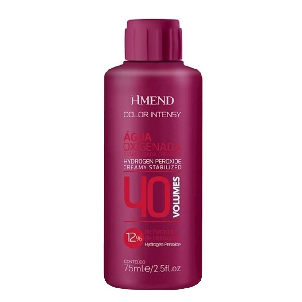 Amend Água Oxigenada Color Intensy 40vol / 12% - 75ml