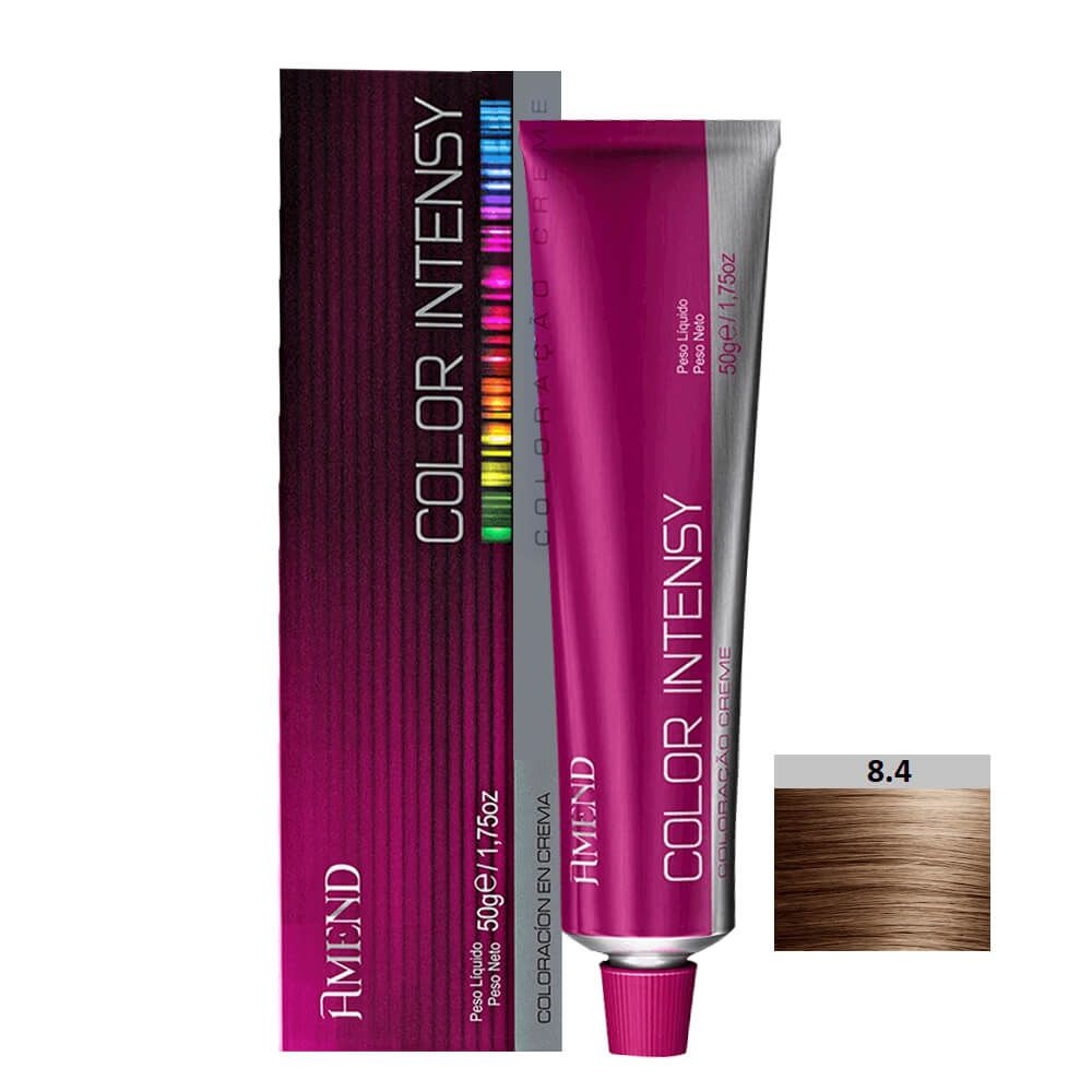 Amend Color Intensy 8.4 Louro Claro Acobreado - 50g