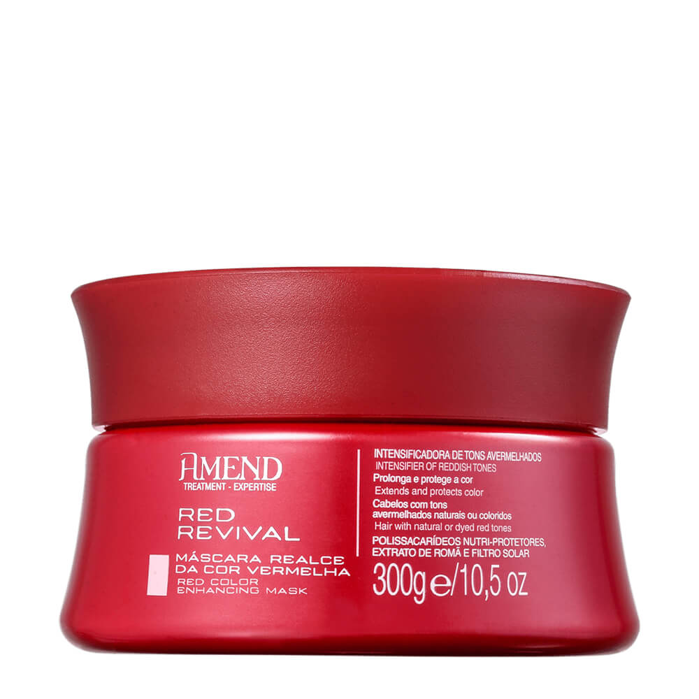 Amend Máscara Realce da Cor Vermelha Red Revival - 300g