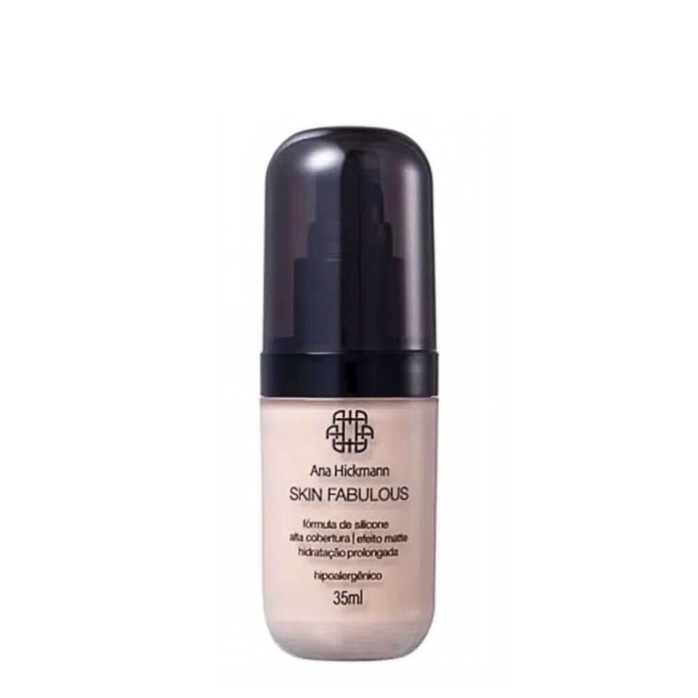Ana Hickmann Base Skin Fabulous Médio N01 - 35ml