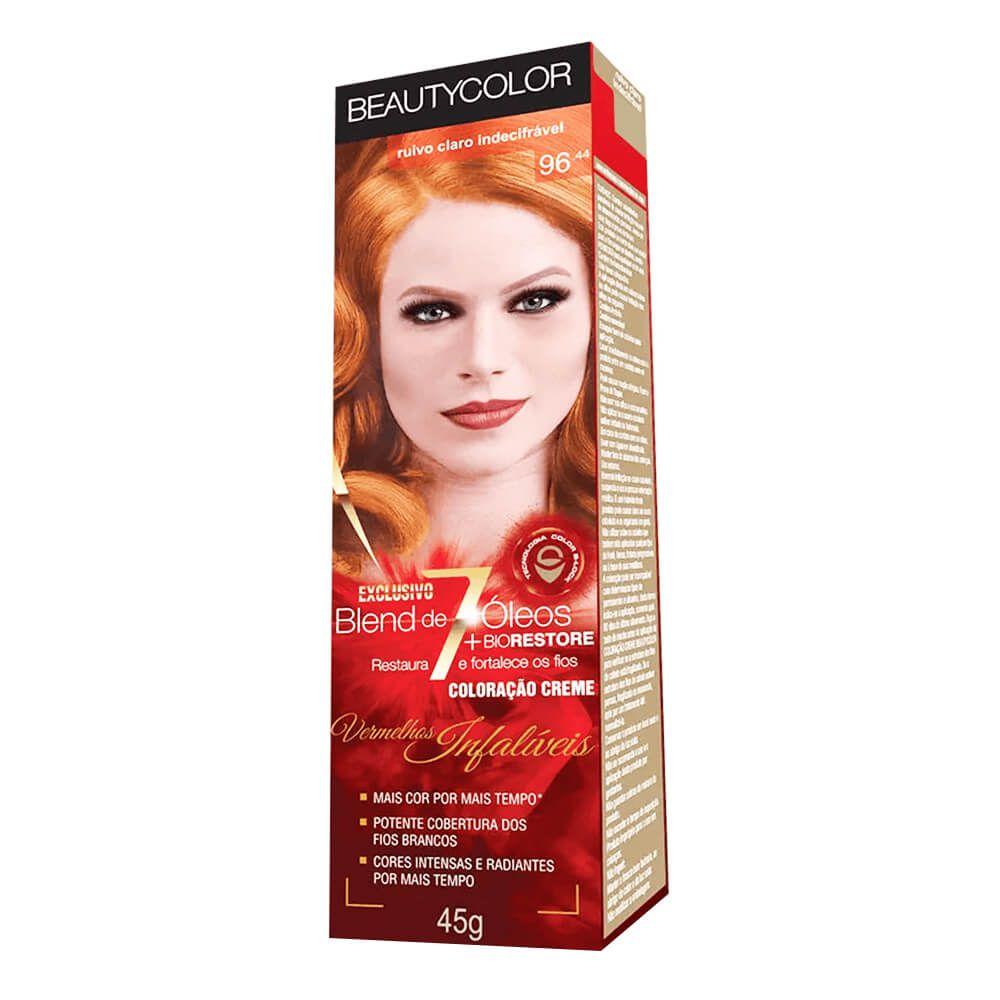 BeautyColor Coloração 96.44 Ruivo Claro Indecifrável - 45g