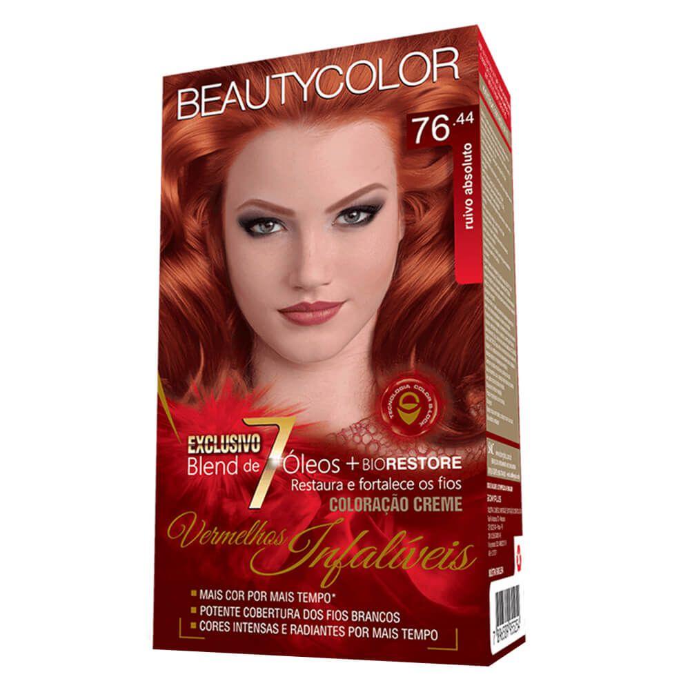 Beauty Color Kit Coloracao 76.44 - Ruivo Absoluto