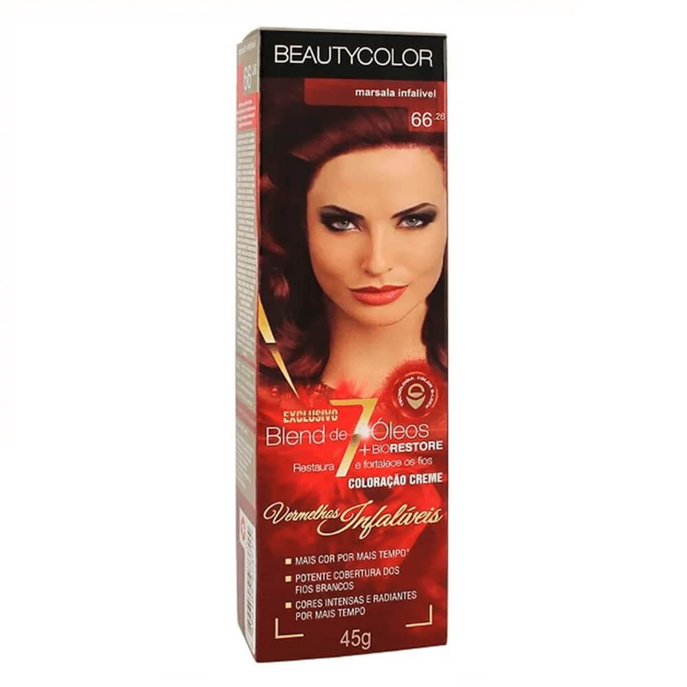 BeautyColor Coloração 66.26 Marsala Infalível - 45g