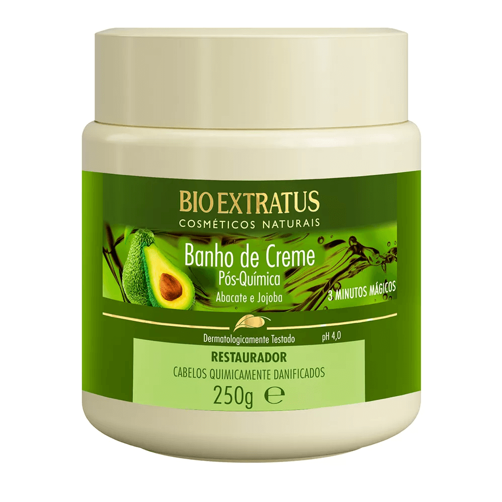 Bio Extratus Banho de Creme Pós Química - 250g