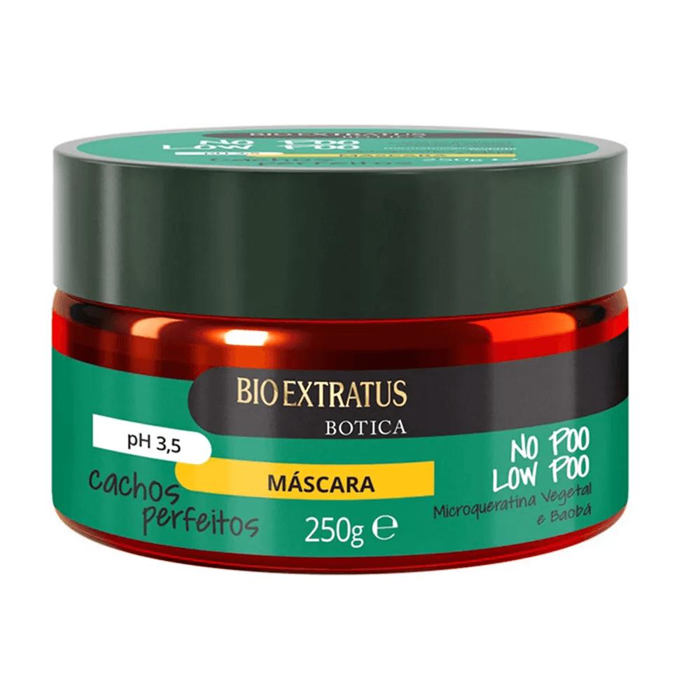 Bio Extratus Máscara Cachos Perfeitos NO POO LOW POO - 250g