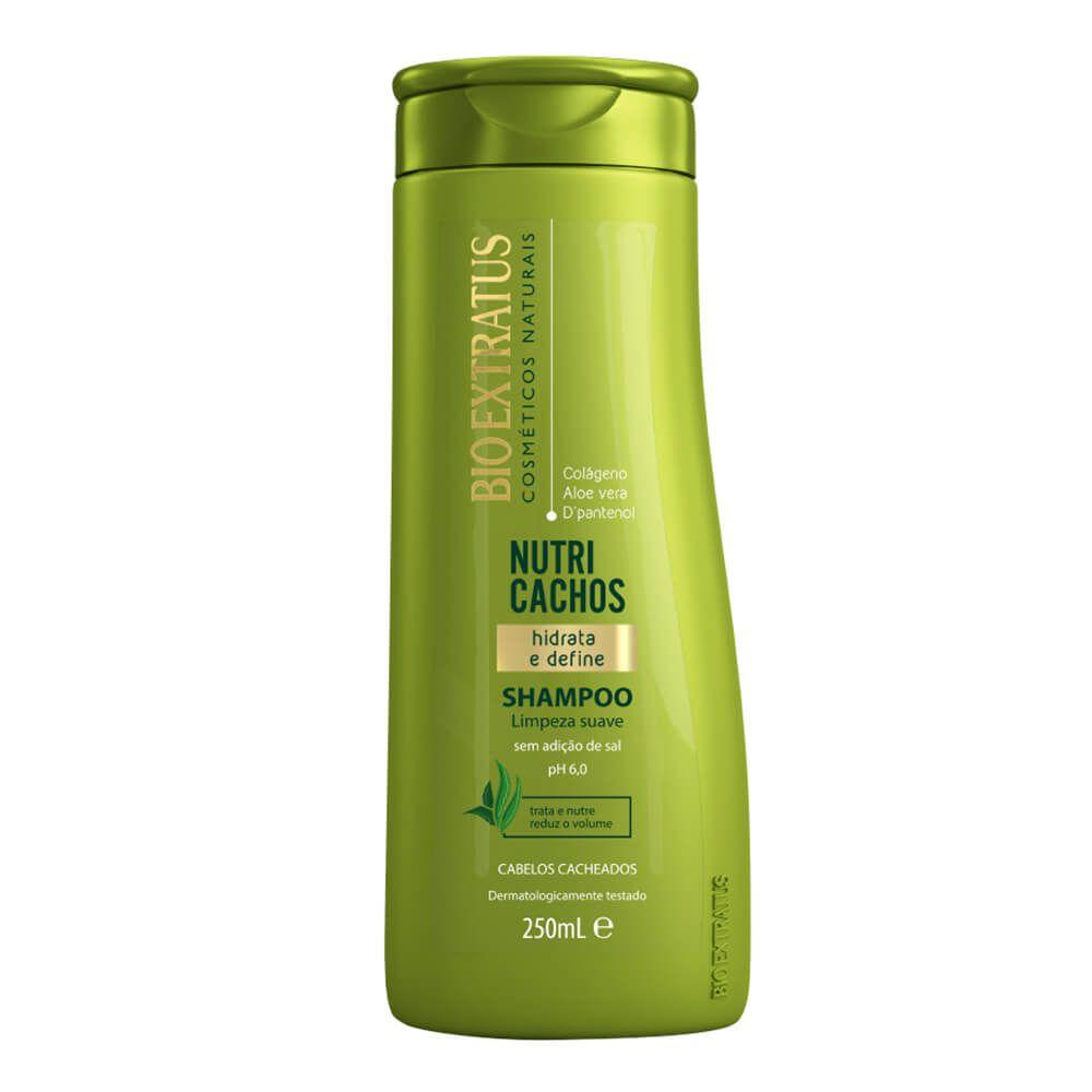 Bio Extratus Shampoo Sem Sal Nutri Cachos Hidrata e Define - 250ml