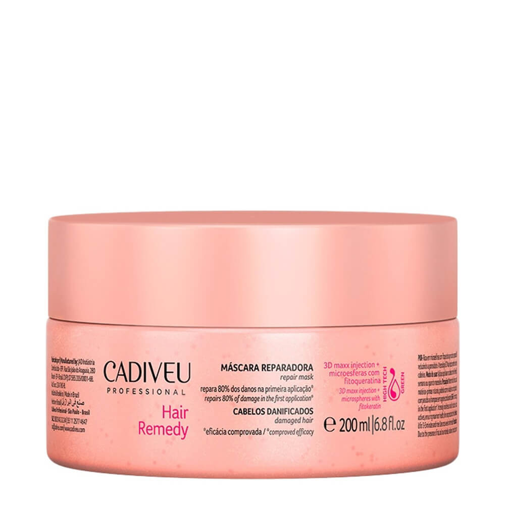 Cadiveu Máscara Reparadora Hair Remedy - 200ml