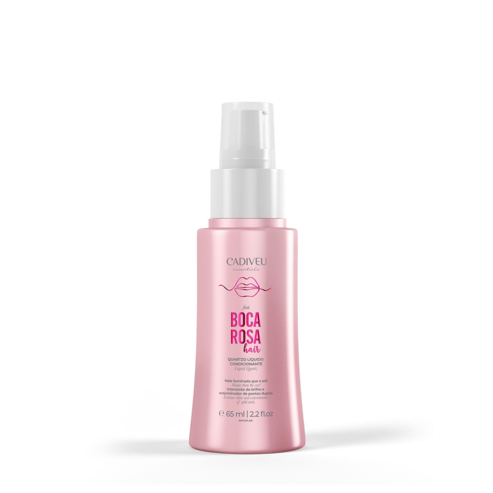 Cadiveu Serum Quartzo Líquido Condicionante Boca Rosa Hair - 65ml