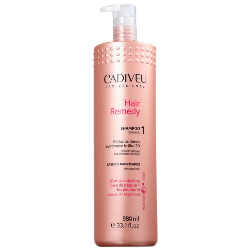 Cadiveu Shampoo Hair Remedy - 980ml